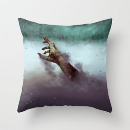 They Don't Stay Dead Throw Pillow
