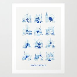 Dogs of the World Art Print