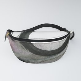 Enso Abstraction No. 112 by Kathy morton Stanion Fanny Pack