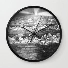B&W RailRoad Wall Clock