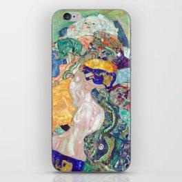 Gustav Klimt Baby (Cradle) iPhone Skin