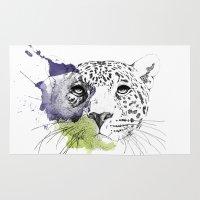 cheetah Area & Throw Rugs featuring Cheetah by Modhi