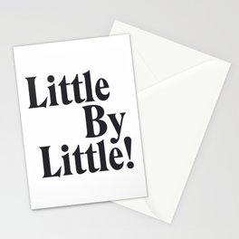 Little By Little Stationery Cards