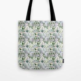 green_pattern Tote Bag
