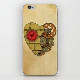 Steampunk Clockwork Heart iPhone Skin