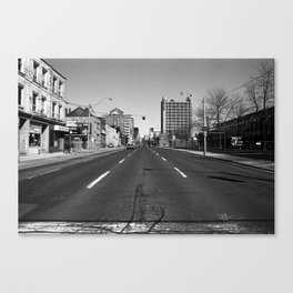 Off Queen - Jarvis Street - North Canvas Print