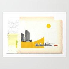Rehabit 3 Art Print