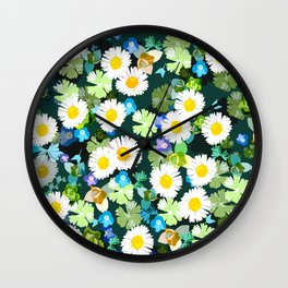 The arrival of spring Wall Clock