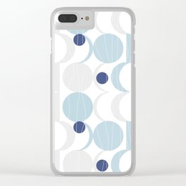 Blue Moon #society6 #decor Clear iPhone Case