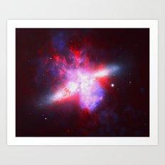 Cosmic Implosion Art Print