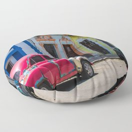 Colors of the Rainbow Floor Pillow