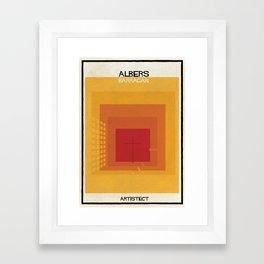 albers+barragan Framed Art Print