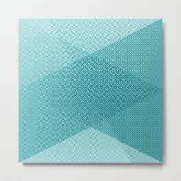 COOL HALFTONE Metal Print