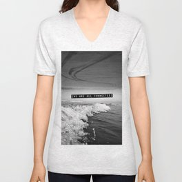 We Are All Connected. Unisex V-Neck