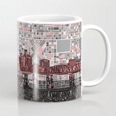 portland city skyline Mug