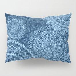 Mandala rain blue Pillow Sham
