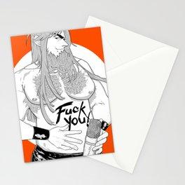 FUCKYOU Stationery Cards
