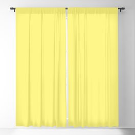 Dunn & Edwards 2019 Trending Colors Chickadee (Bright Yellow) DE5403 Solid Color Blackout Curtain