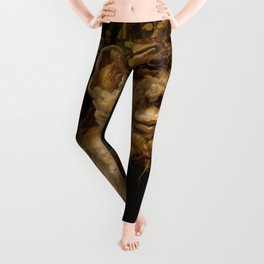 "Giuseppe Arcimboldo ""Four seasons - Winter"" Leggings"