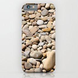 River Rocks Pebbles iPhone Case