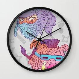 Mutated Clan Wall Clock