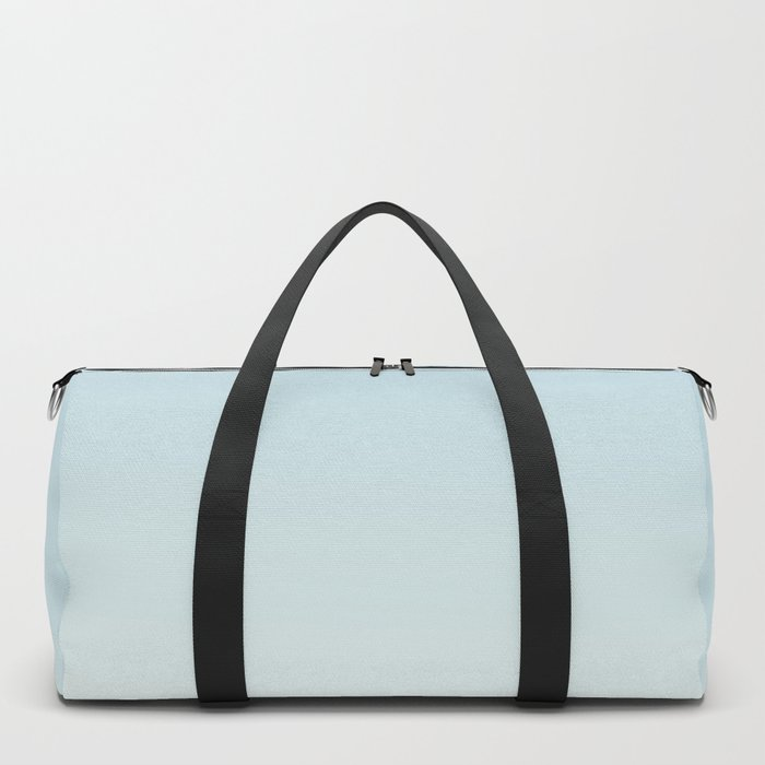 BLUE STRIKES - Minimal Plain Soft Mood Color Blend Prints Duffle Bag