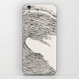 Drift wave iPhone Skin