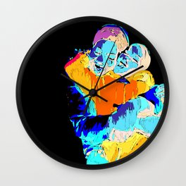 Afrika Love Wall Clock
