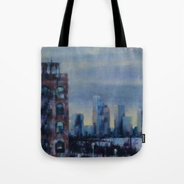 View from the Highline Tote Bag