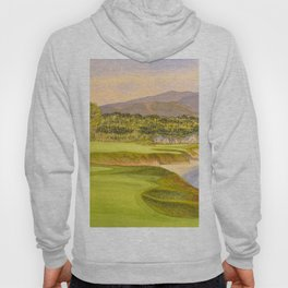 Pebble Beach Golf Course Holes 9 and 10 Hoody