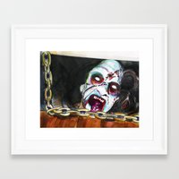 evil dead Framed Art Prints featuring The Evil Dead  by Christopher Chouinard
