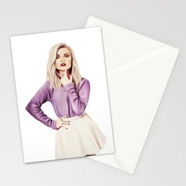 Perrie Edwards Stationery Cards