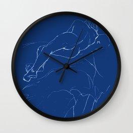 Sleeping man Wall Clock
