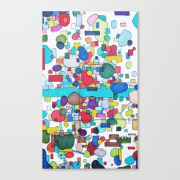 River City Canvas Print