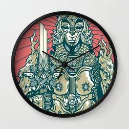 Jeanne D'Arc Wall Clock