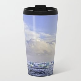 Jokulsarlon Lagoon Beach 07 Travel Mug
