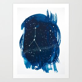 Cancer Zodiac Print Art Print