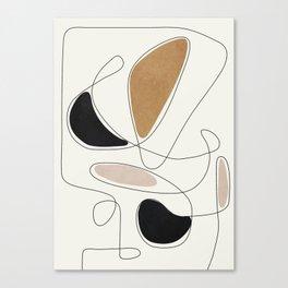 Thin Flow III Canvas Print