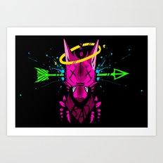 BAD. Art Print