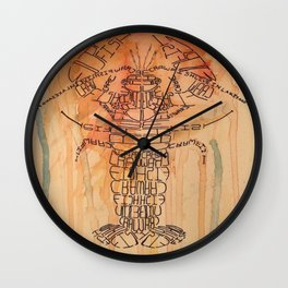 Craw Fish Wall Clock
