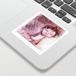Miguel,  grabado Sticker