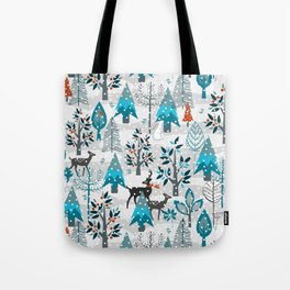Snow Much Courage Tote Bag