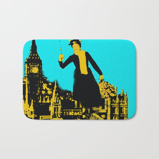 Mary in the City  Bath Mat