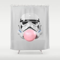 Stormtrooper Bubble Gum Shower Curtain