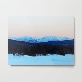 High Mountain in the Spring Metal Print