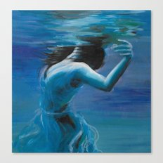 Just Floating Canvas Print