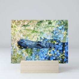 Monet Alligator Mini Art Print