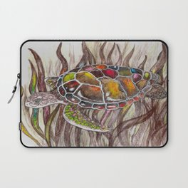 Tripping turtle Laptop Sleeve