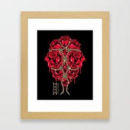 ROPE DOJO - BOUND ROSES Framed Art Print