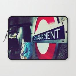 TUBE SIGNS-Embankment Laptop Sleeve